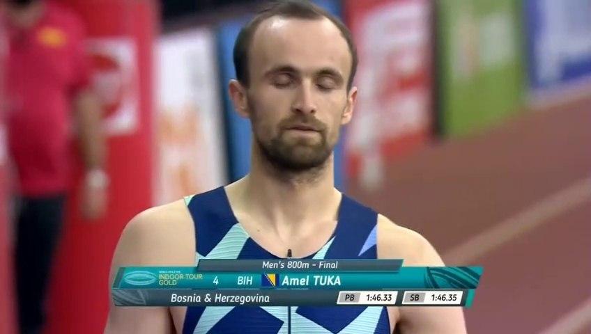Amel Tuka - 2 mjesto - 1:45.95 - 800m Madrid