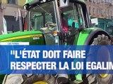 À la UNE : 200 agriculteurs manifestent pour des