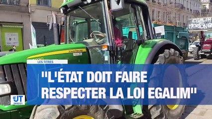 """À la UNE : 200 agriculteurs manifestent pour des """"prix plus justes"""" / L'Ecole des Mines s'engage contre les violences sexuelles / Une vente aux enchères à La Poularde / Que font nos députés ?"""