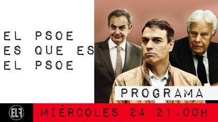 Juan Carlos Monedero: el PSOE es que es el PSOE - En la Frontera, 24 de febrero de 2021