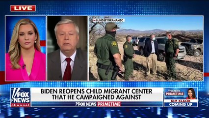 Lindsey Graham blasts Biden's border policy as a 'recipe for disaster'