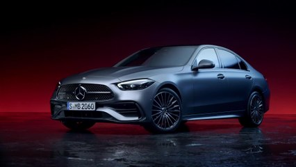 Die neue Mercedes-Benz C-Klasse - Silhouette mit besonderem Lichtspiel