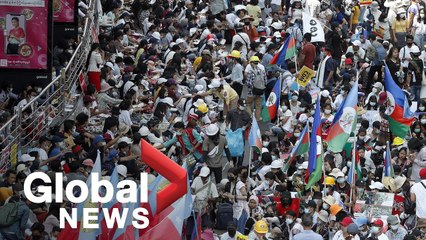 Myanmar coup: Protests continues against military, condemning violence during rallies