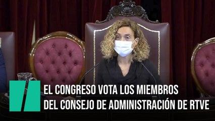 El Congreso vota los miembros del Consejo de Administración de RTVE