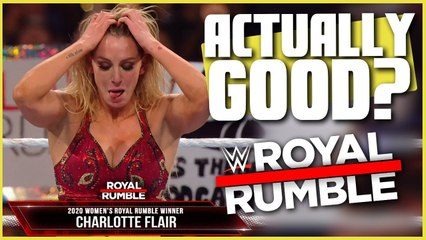 Is The Royal Rumble Actually Good?