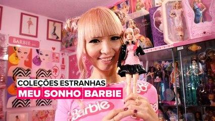 A mulher que gastou $80,000 doláres na coleção de Barbies!