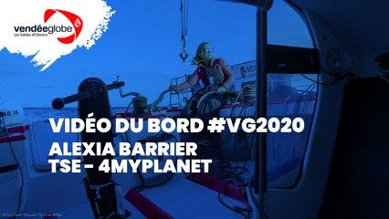 Vidéo du bord - Alexia BARRIER | TSE – 4MYPLANET - 25.02 (2)