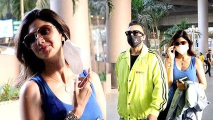 Shilpa Shetty Husband Raj Kundra के साथ Maldives Vacation से लौटी: FULL VIDEO। Boldsky