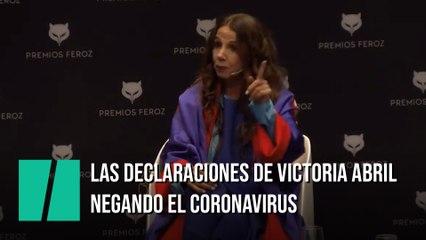 Las polémicas declaraciones de Victoria Abril sobre el coronavirus