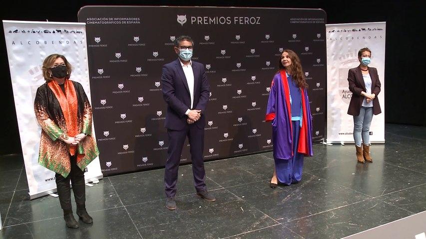 Victoria Abril la lía en los Premios Feroz 2021