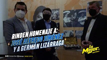 Rinden homenaje a José Alfredo Jiménez y a Germán Lizárraga