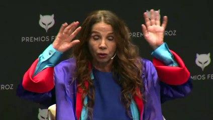 """Victoria Abril, sin mascarilla, califica la pandemia de """"coronacirco"""""""