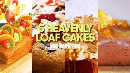 5 Amazing Loaf Cakes