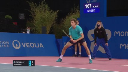 OPEN SUD DE FRANCE 2021 - Tallon Griekspoor vs Ugo Humbert - 2ème tour - Highlights