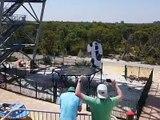Le trampoline le plus résistant au monde !!!