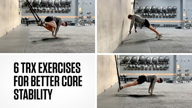 6 TRX Exercises for Better Core Stability