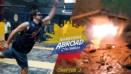 PLAYING TEJO, THE NATIONAL SPORT OF COLOMBIA | Barstool Abroad Colombia (Chapter 3)