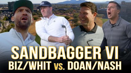 Shane Doan + Tyson Nash VS. Ryan Whitney + Paul Bissonnette - Sandbagger Invitational VI