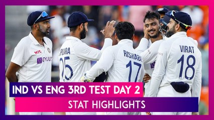IND vs ENG 3rd Test 2021 Day 2 Stat Highlights: India Beat England Inside Two Days