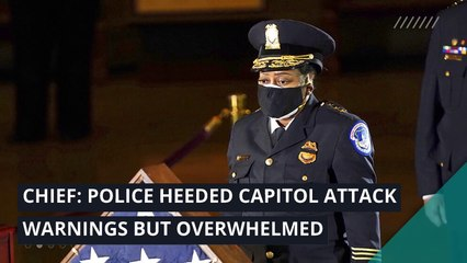 Chief: Police heeded Capitol attack warnings but overwhelmed, and other top stories in politics from February 26, 2021.