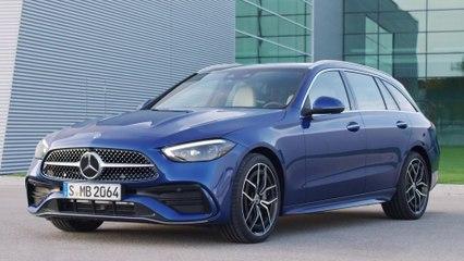 Die neue Mercedes-Benz C-Klasse - Das Exterieurdesign