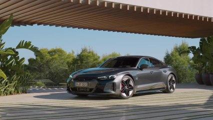 Der Audi e-tron GT - Fahrwerk