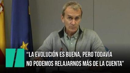 """Fernando Simón: """"Todavía no podemos relajarnos más de la cuenta"""""""