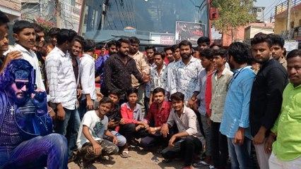 ಕರ್ನಾಟಕದಿಂದ ಹೈದರಾಬಾದ್ ಕಡೆ ಹೊರಟ ಡಿ ಬಾಸ್ ಬಾಯ್ಸ್ | DBoss Fans in Hyderabad, Roberrt Pre Release Event