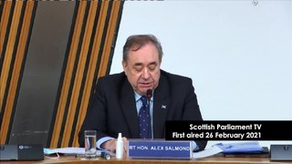 Alex Salmond Inquiry | Former First Minister's opening statement to the Harassment Complaint Inquiry