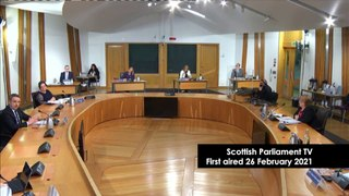 Alex Salmond Inquiry | Alex Cole-Hamilton MSP reminded  about line of questioning