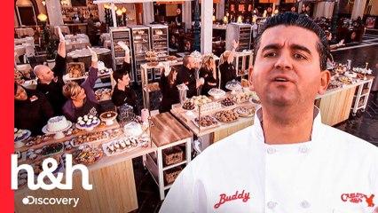 Aspirantes deben vender cientos de dulces en Las Vegas | El Desafío de Buddy | Discovery H&H