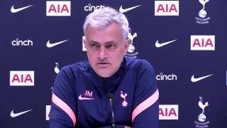 Jose Mourinho pre Burnley