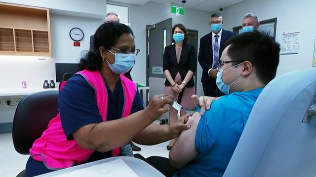 NSW Premier frustrated at handling of Canberra's vaccine rollout