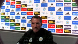 Rodgers on Arsenal test