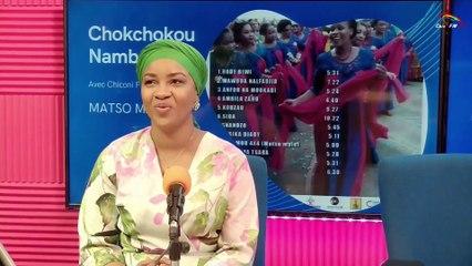 CHICONI FM TV - Avec la présidente du groupe Chokchokou de Chiconi pour la présentation de l'album MATSO MALE