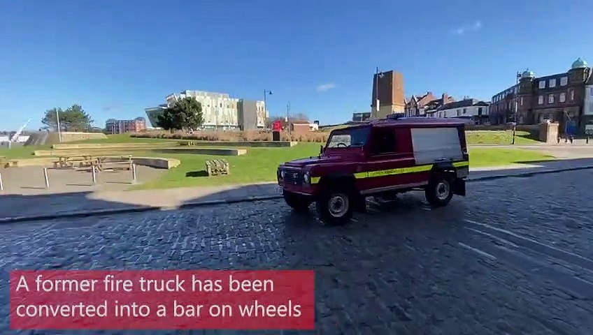 Fire truck comes to the rescue with pub-quality pints