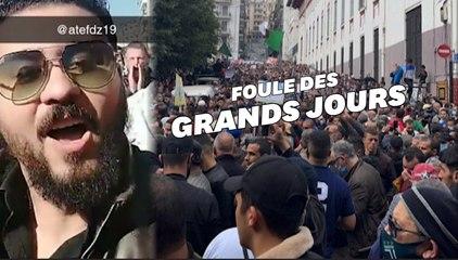 Après un an sans manifester à cause du Covid-19, les Algériens  de retour en force dans la rue