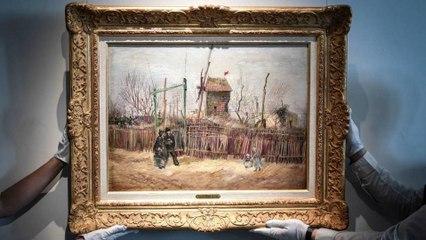 Après 100 ans, un tableau de Van Gogh est mis aux enchères