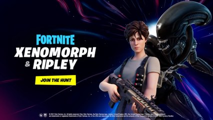 Fortnite - Ripley and Xenomorph Arrive on the Island - PS4 PS5