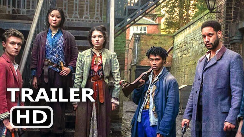 THE IRREGULARS Trailer Tease (2021) New Sherlock Holmes Netflix Series