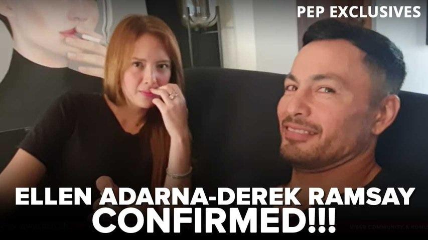 Derek Ramsay and Ellen Adarna confirm relationship | PEP Exclusives