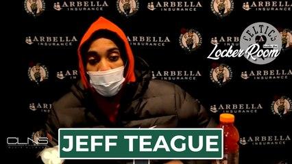 Jeff Teague Postgame Interview | Celtics vs. Pacers