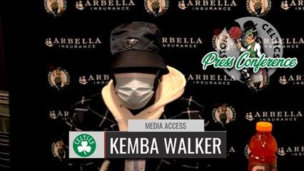 Kemba Walker Postgame Interview | Celtics vs. Pacers