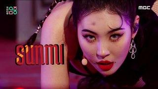 [Comeback Stage] SUNMI - TAIL, 선미 - 꼬리 Show Music core 20210227