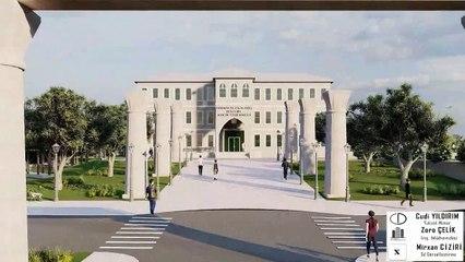 Neriman ve Celal Özel Nusaybin Meslek Yüksekokulu Projesi animasyonu