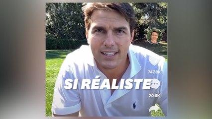Un compte Tik Tok utilise le deepfake à la perfection pour imiter Tom Cruise