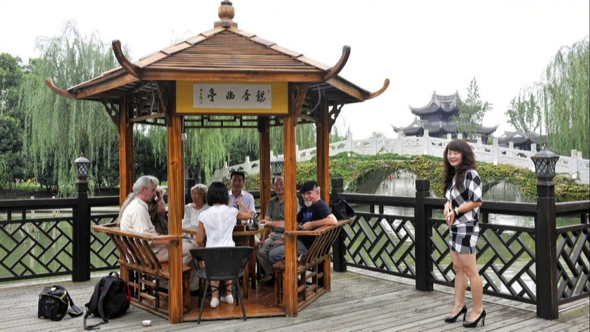 Visiting Suzhou Luzhi Art Park