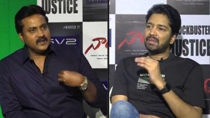 #Nandhi Movie Team Chit Chat With Sunil Part 1   Allari Naresh   Varalaxmi Sarathkumar