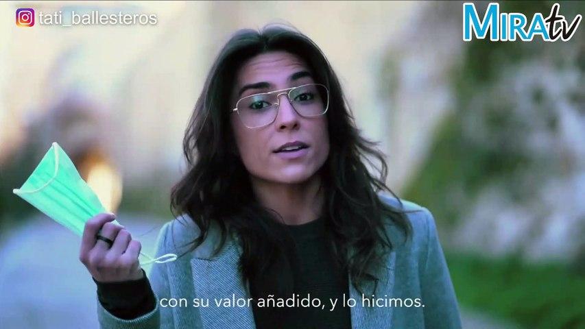 Tati Ballesteros pone voz a los españoles: