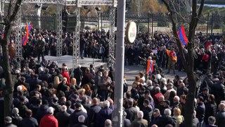 Tensão político-militar na Arménia
